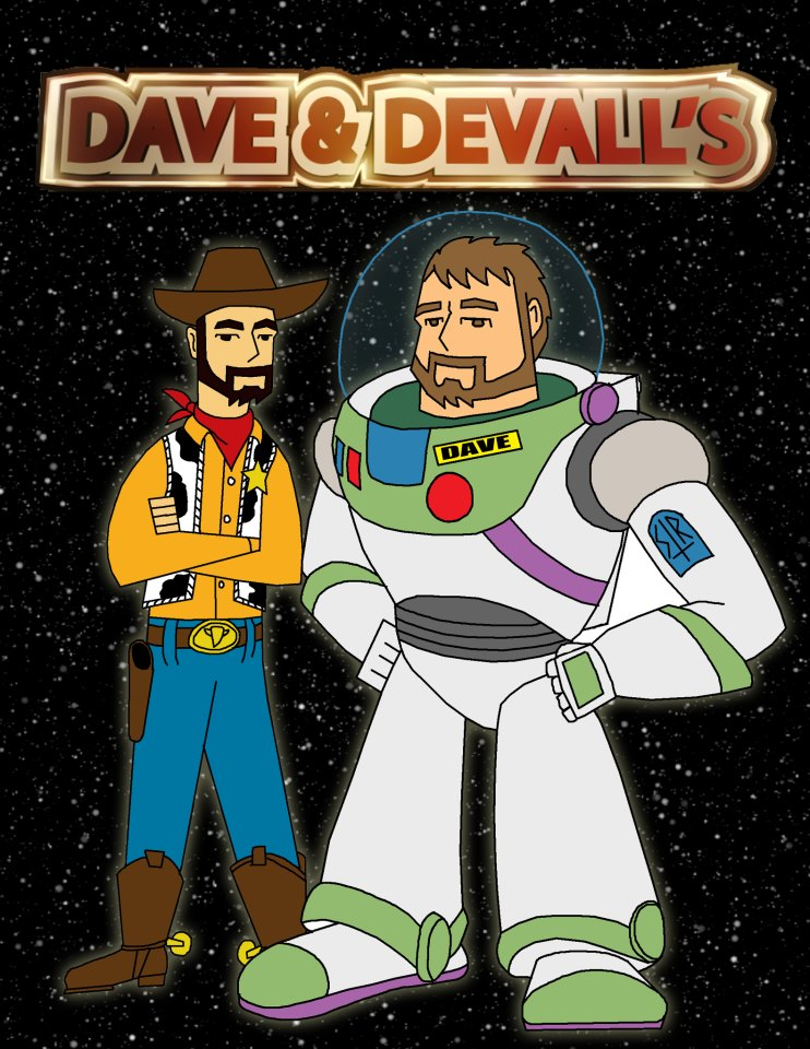 Dave and Devall New Site logo