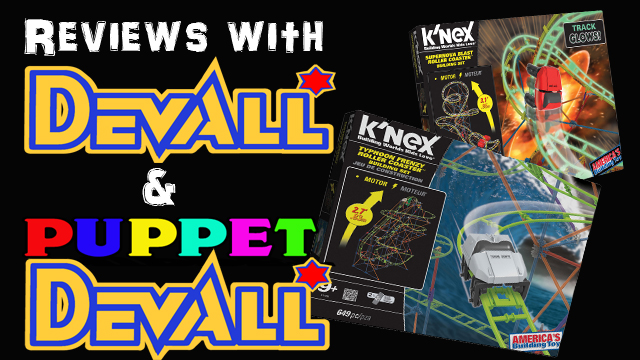 Knex Typhoon Frenzy And Supernova Blast Roller Coasters Review