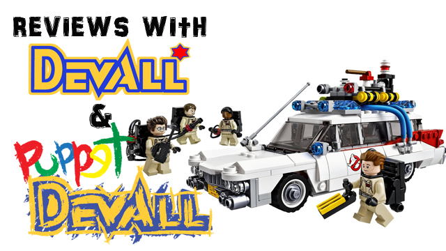 Lego Ghostbusters Title