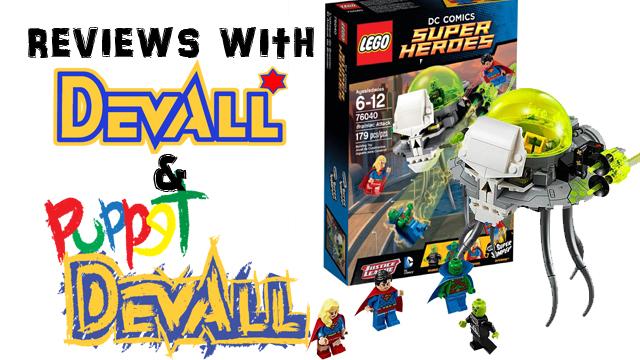 Lego Braniac Attack Title