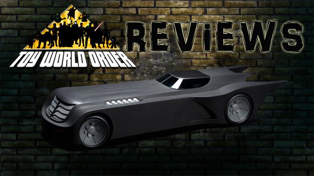 DC Batmobile Title