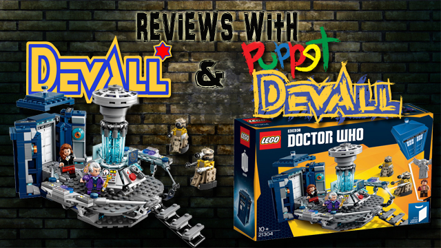 Lego Doctor Who Title