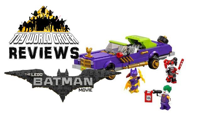 Lego Batman Movie Title
