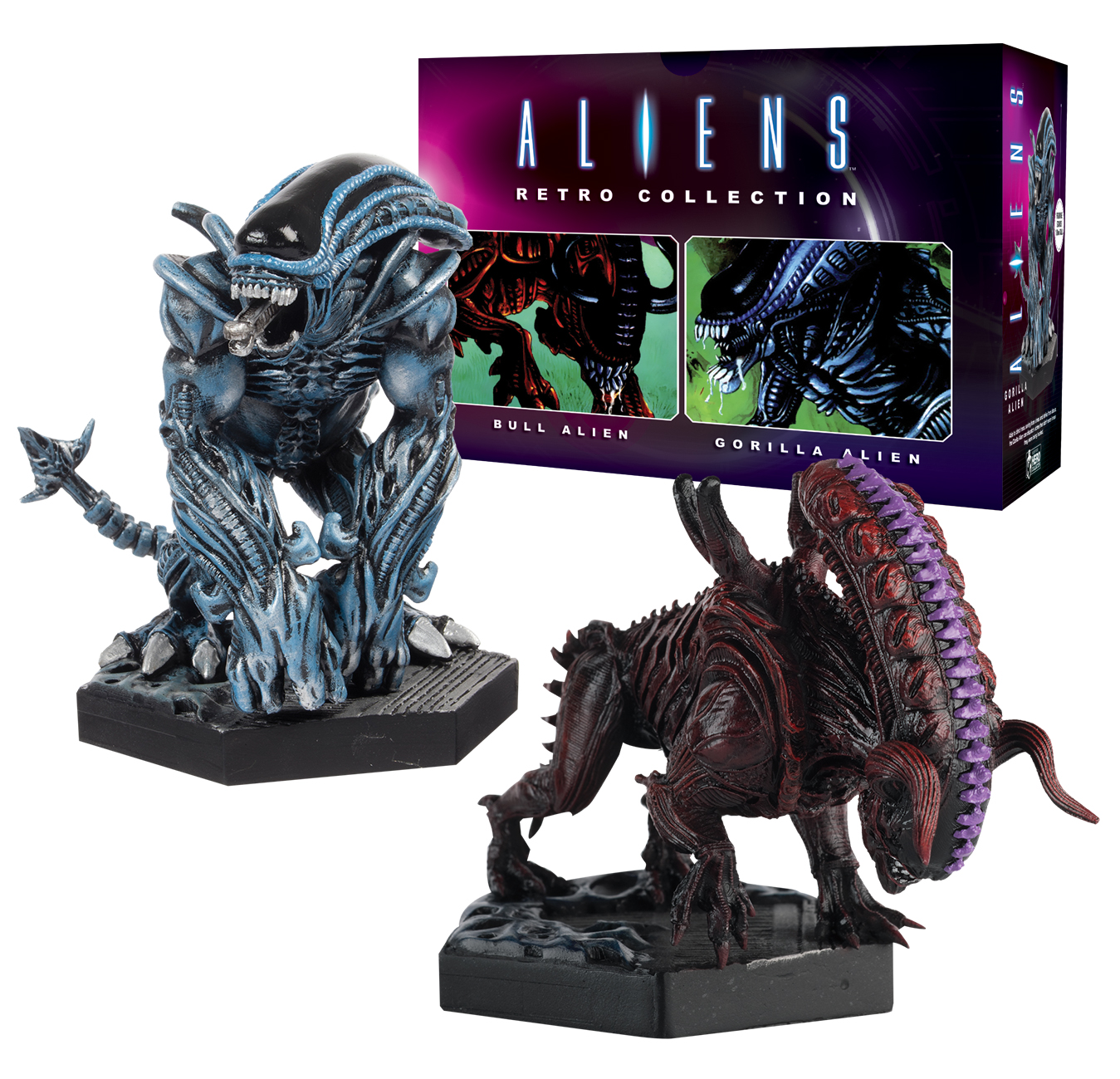 5. HC NYCC Alien_Predator_Collection Retro 2Pack Bull_and_Gorilla